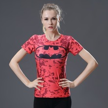 Shirt Captain America Shield Civil War Tee 3D Printed T-shirts girl's Marvel Avengers superman Fitness Clothing women Tops