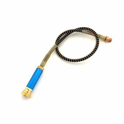 PCP Paintball Airforce bomba de mano 300bar/4500psi M10x1 filtro separador de agua-aceite con manguera de presión de 50 cm rápido y acopladores