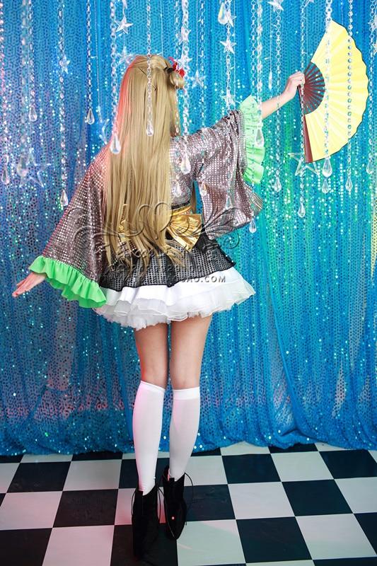 Anime LOVE LIVE! Darkimakura Dance Of The City Uniform Dress Cosplay Costume Any Size Free Shipping NEW