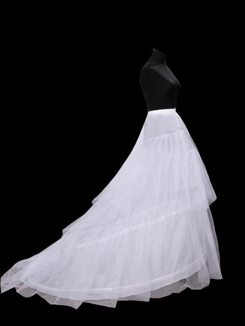 Wholesale Mermaid Petticoat Bone Elastic Wedding Dress Crinoline 2016 Bridal Petticoat Cheap