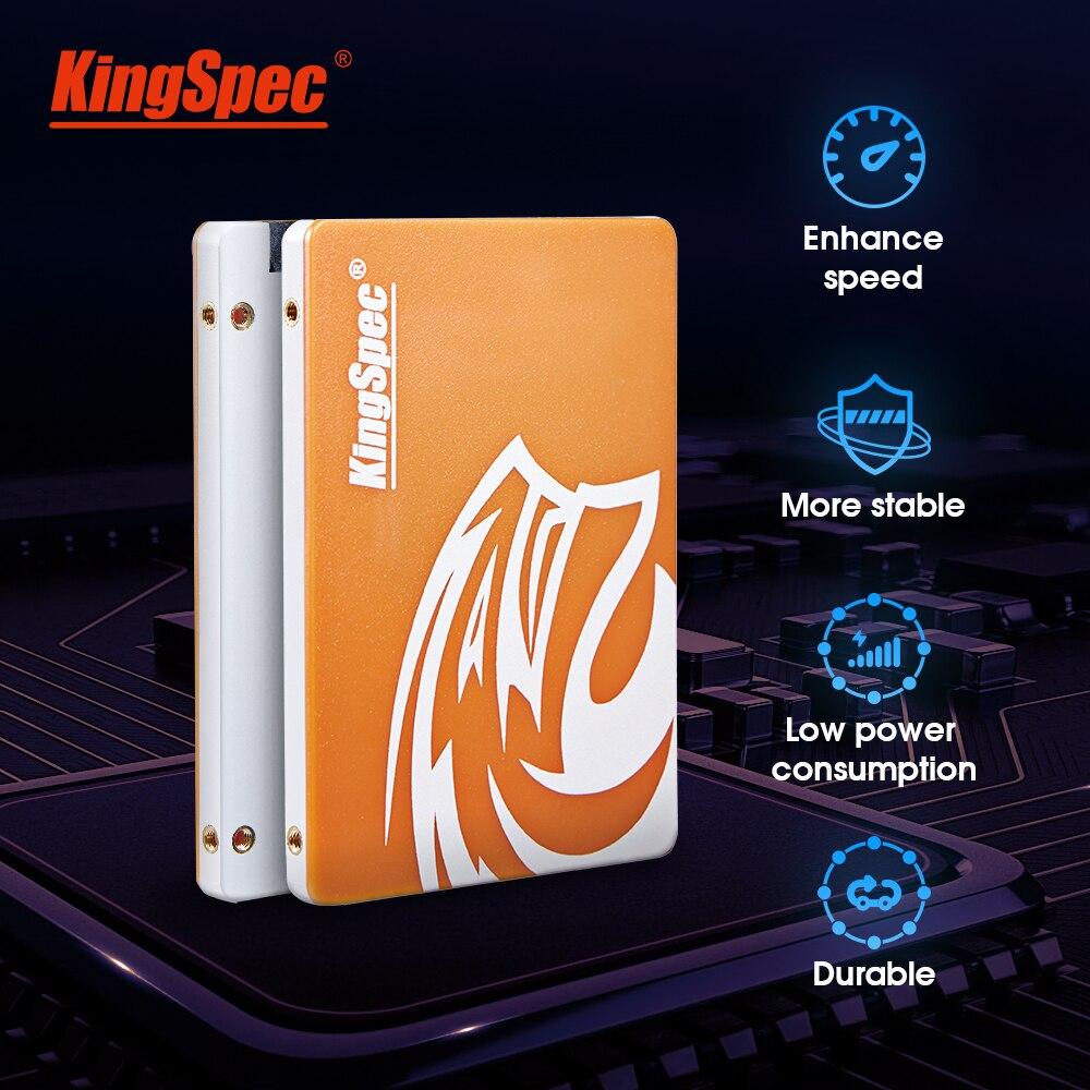 KingSpec SSD SATAIII 120GB hdd 240GB SSD 500GB 1 2TB TB SATA SSD de Estado Sólido Interno hd unidade de Disco Rígido Para O portátil do Desktop