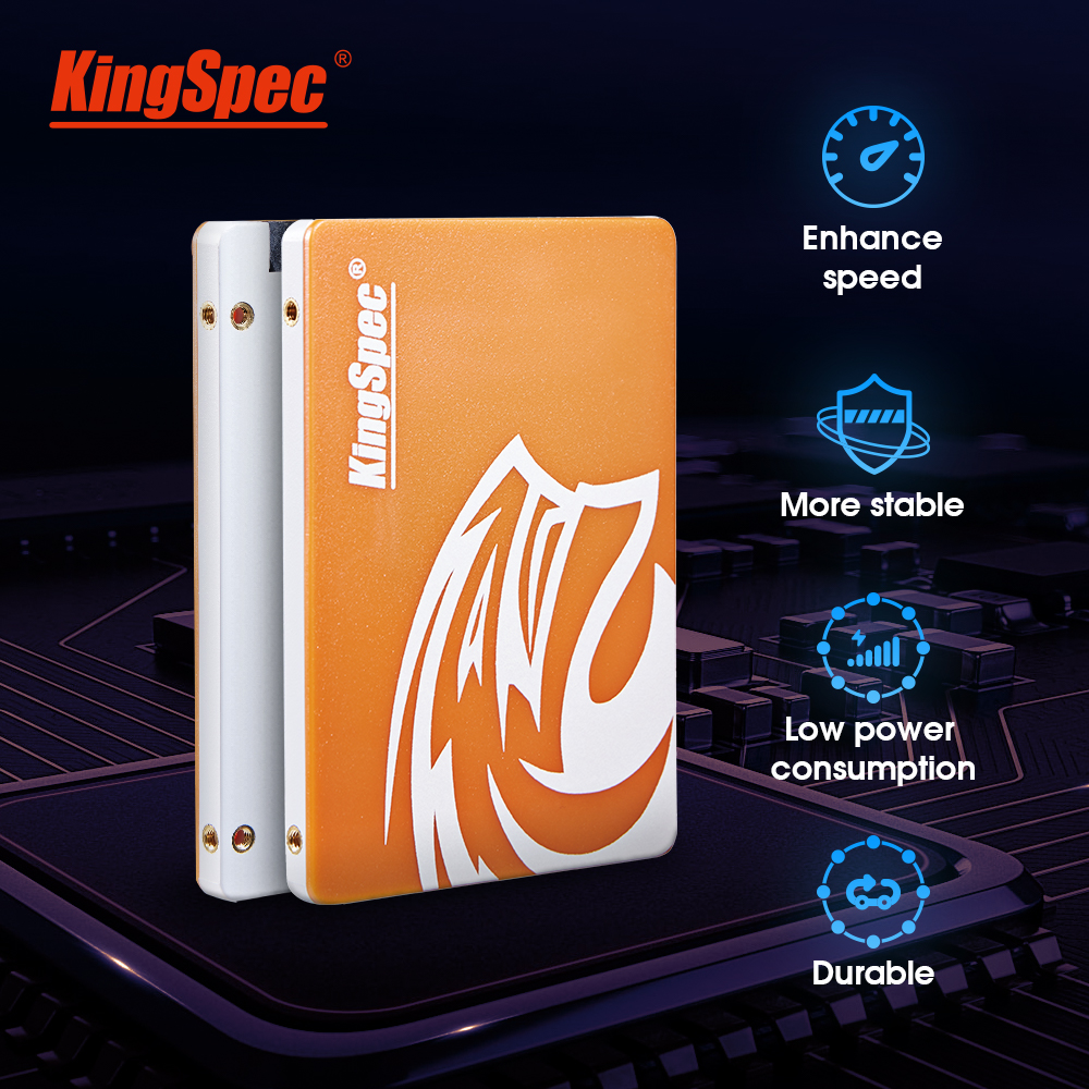 KingSpec SSD SATAIII 120GB Hdd 240GB SSD 500GB 1TB 2TB SSD SATA Internal Solid State Drive Hd Hard Disk For Laptop Desktop