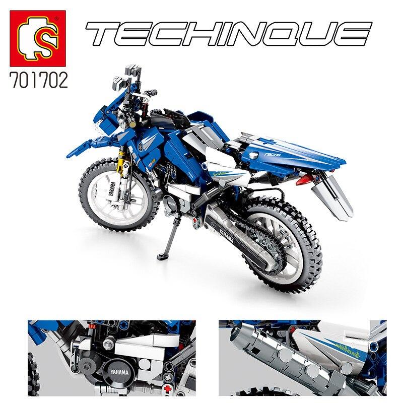 Sembo 701702 799 Pcs Technic Serie Motorfiets Bouwstenen Bakstenen Educatief Motorbike Model Kinderen speelgoed-in Blokken Stapelen van Speelgoed & Hobbies op  Groep 3