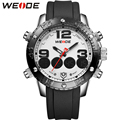 WEIDE Man's Watch Casual Watches Analog Digital Alarm Stopwatch Display Waterproof Top Luxury Brand Fashion Products For Men