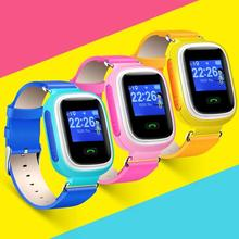 Q60 Multi-language Kids Smart Watch Wrist Watch SOS Call Anti-lost for Android iOS Phone 3 Colors