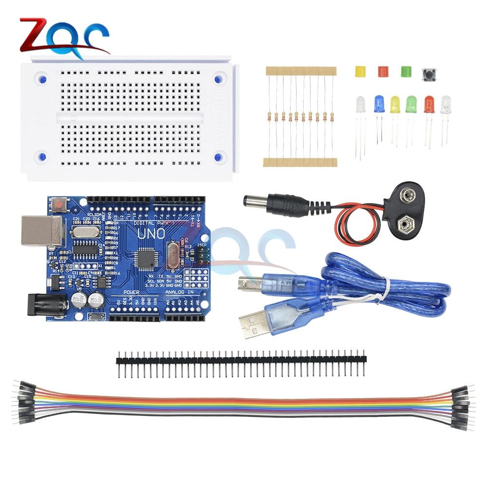 1 set Arduino Anfänger Starter Kit Resistors Potentiometer  LED etc GE