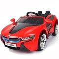 Envío libre a Rusia, EE. UU. El nuevo bebé grande coche eléctrico para niños de cuatro ruedas de doble en coche de juguete recargable bebé puede sentarse en