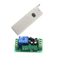 12V 1CH Learning Code Wireless Remote Control Switch System Receiver and Transmitter Applicance Garage Door