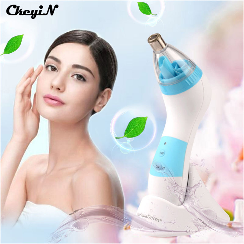 Microdermabrasion Facial Cleaning Device Face-lift Deep Skin Pores Cleansing Exfoliation Beauty Anti-aging Device Care Massage