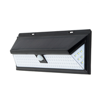 118 LEDs IP65 Solar Motion Sensor Wall Light for Garden / Pathway / Yard / Patio / Aisle IP65 Waterproof Solar Lamps