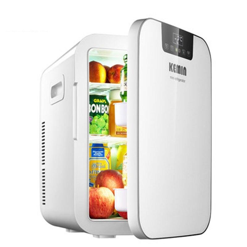 20L Refrigerator Car Refrigerator Mini Small Home Dormitory Dormitory Car Dual use Student Single door Kemin 20L small refrigera-in Refrigerators from Home Appliances