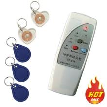 Free shipping 4 frequency RFID Copier/ Duplicator/ Cloner ID EM reader & writer+ 10pcs T5557 writable keyfob