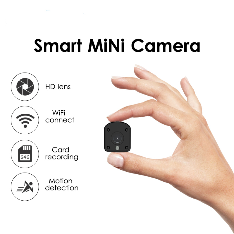 Mini Camera Cell Phone Remote Monitoring Built-in Battery HD Infrared Night Vision Micro Network Monitor Integrated MachineMini Camera Cell Phone Remote Monitoring Built-in Battery HD Infrared Night Vision Micro Network Monitor Integrated Machine