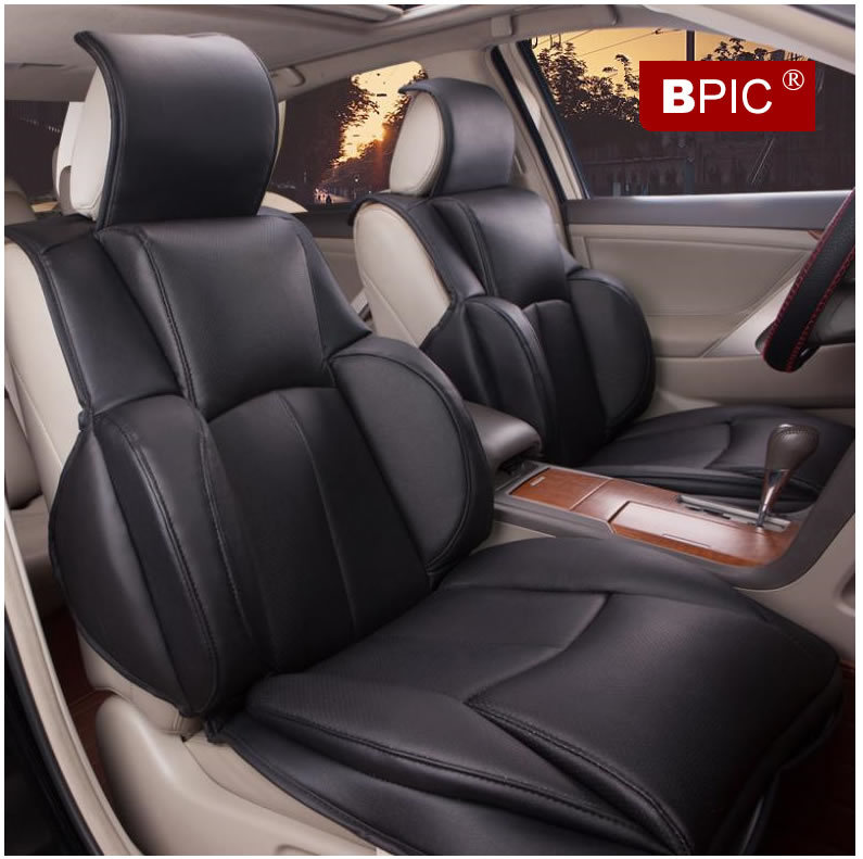 2015 Universal Car Seat Covers Comfortable Luxury Winter Mats 5 Seats Quality Leather Accessories In Automobiles