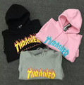 2017 High Quality Mens Thrasher Sweatshirt Hoodies trasher Skateboards Hoodie Male 100% Cotton Sweat Thrasher Sweatshirt Hoo