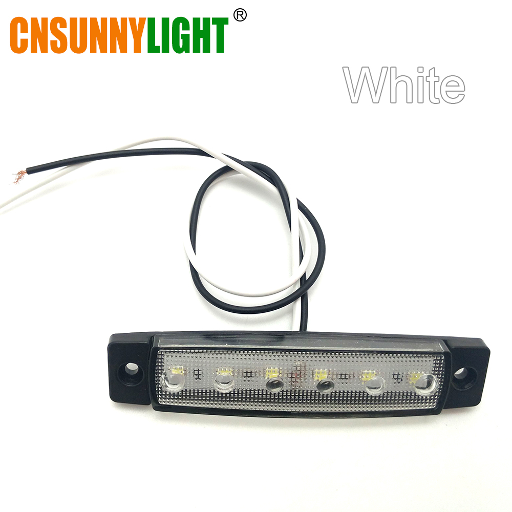 CNSUNNYLIGHT Car LED Bus Clearance Lamp Tail Reverse Light Turn Signal Truck Trailer Lorry UTE Caravan Rear Warning Lighting Bar (7)