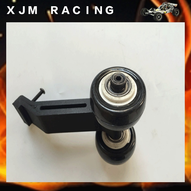 ФОТО Wheel bar with 2 wheel imported nylon PolyMax for Traxxas X-MAXX XMAXX