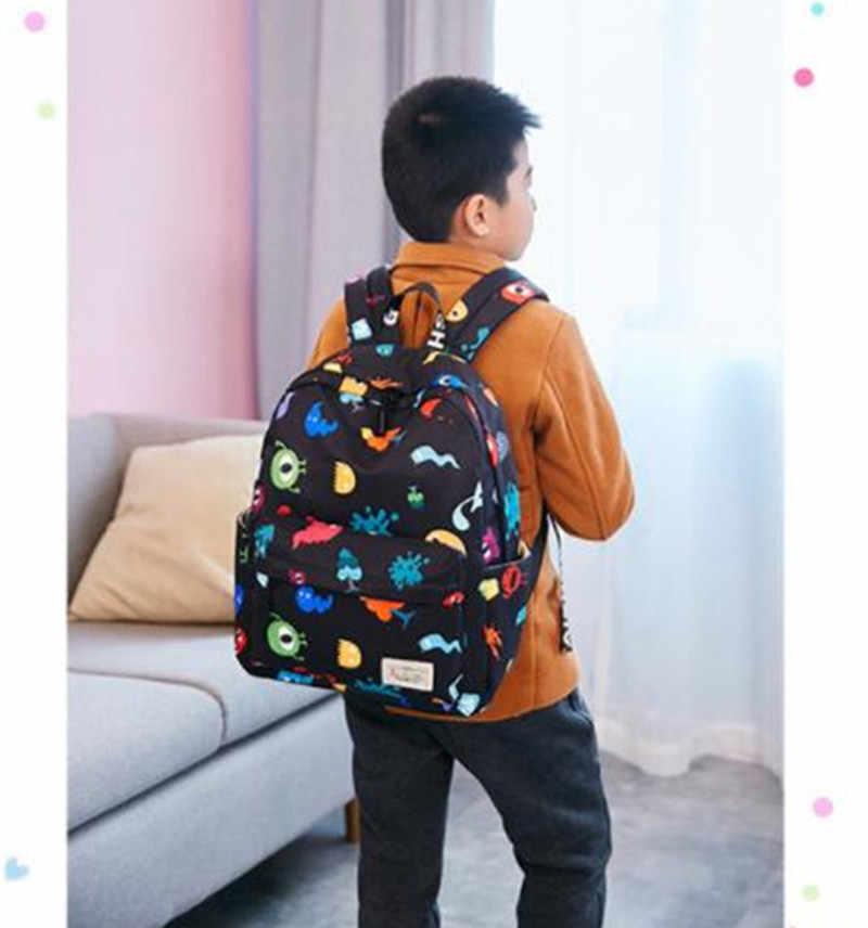 Mochilas escolares pequeñas de dibujos animados para niños mochilas escolares de bebé mochila de animales para niñas niños guardería mochila escolar
