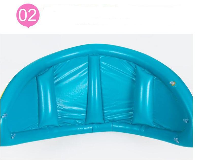 Baby Kids Summer Swimming Pool Swimming Ring Inflatable Swan Swim Float Water Fun Pool Toys Swim Ring Seat Boat Sport for 3-6Y (8)