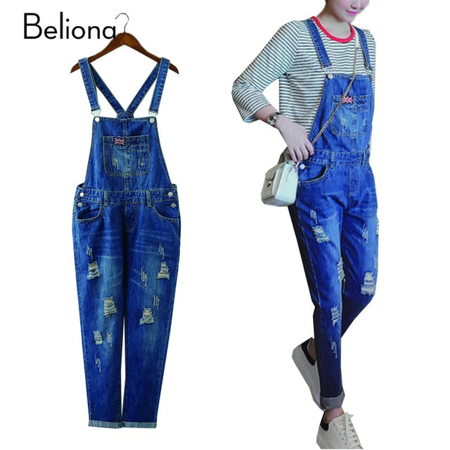 f3cce4d22313f6 Plus Size Maternity Jeans Overall Pants Jumpsuite Jumpsuits Fall Spring Winter  Clothes for Pregnant Women Ropa