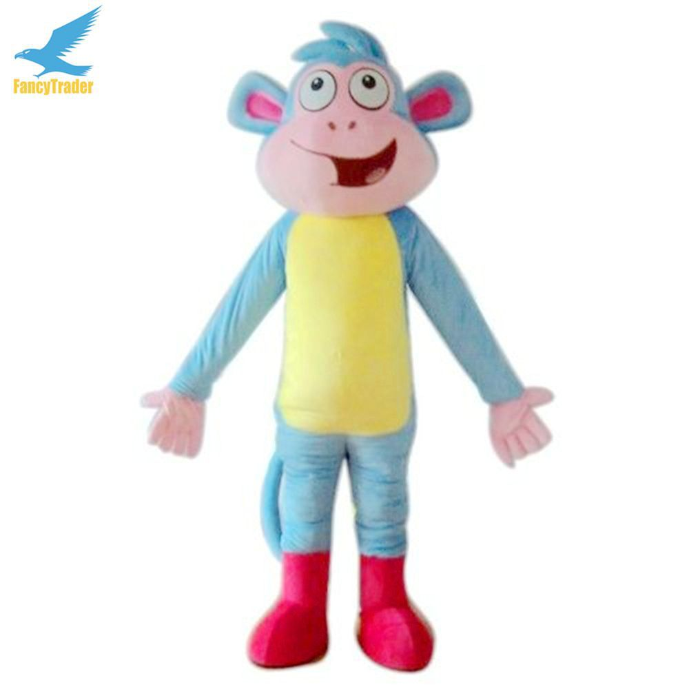 fancytrader real pictures deluxe dora monkey boots mascot