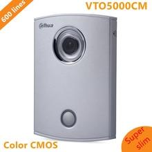 Dahua Villa Outdoor Station Original English Version without Logo VTO5000CM 600 lines Intercom Video Door Phone Doorbell Camera