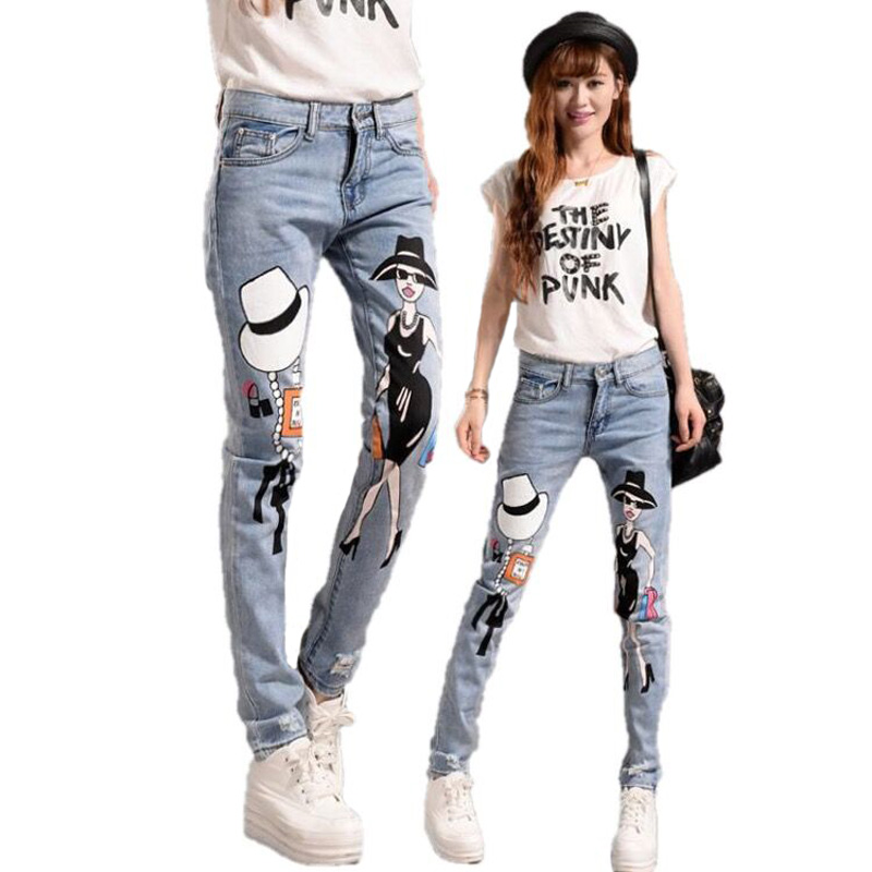 Online Get Cheap Cute Skinny Jeans for Girls -Aliexpress.com