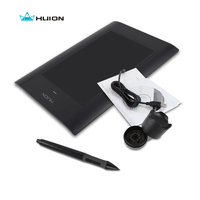 Promotion New Huion 580 8 Professional Signature Graphic Tablet Painting Drawing Pen Tablets Handwriting Boards Black