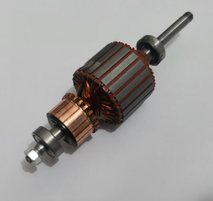 Vacuum Cleaner Parts copper wires motor armature shaft 0.8cm diameter for BF501  HLX GS A30 1 D 112|Vacuum Cleaner Parts| |  - title=