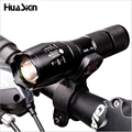 High Quality Professional XM-L T6 3800LM Bicycle Light Torch Waterproof Zoomable LED Flashlight Bike Light With Torch Holder