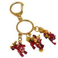 New Feng Shui Three Lions Keychain W Fengshuisale Red String Bracelet W3363