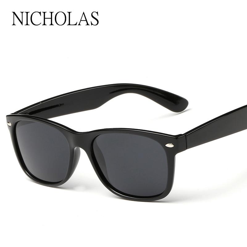 ef4144068 نيكولاس العلامة التجارية الاستقطاب النظارات الشمسية الرجال النساء حملق  القيادة نظارات الشمس للرجال نظارات Occhiali دا