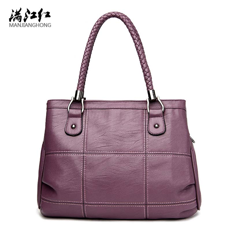 Female Luxury Handbags Women Bags Designer PU Leather Fashion Shoulder Bag Sac a Main Marque Bolsas Ladies Casual Tote Handbags joyir fashion genuine leather women handbag luxury famous brands shoulder bag tote bag ladies bolsas femininas sac a main 2017