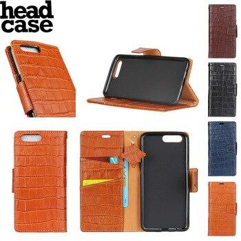 Head Case For Xiaomi mi66 Plus Classic Flip Phone Fundas crocodile skin Flip Genuine leather Stand Cover Protective Wallet