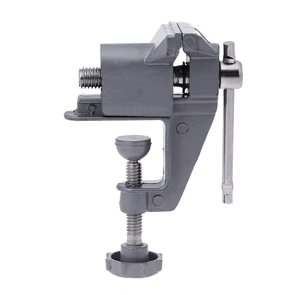Универсальный мини скамья тиски стол винт тиски алюминиевый сплав 30 мм скамья зажим винт тиски для DIY ремесло плесень фиксированный ремонт ...
