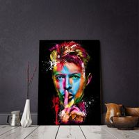 Mayitr Rock Singer David Bowie Poster Canvas Print Painting Picture Wall Art Bedroom Home Decor Modern