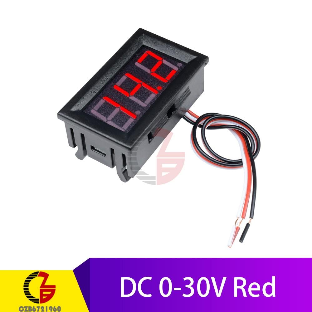 DC 0-30V Red