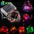 2 M 20 LED de Batería Powered Hadas de la Secuencia de Luz Para la Fiesta de Navidad Del Corazón Weddinng Decor