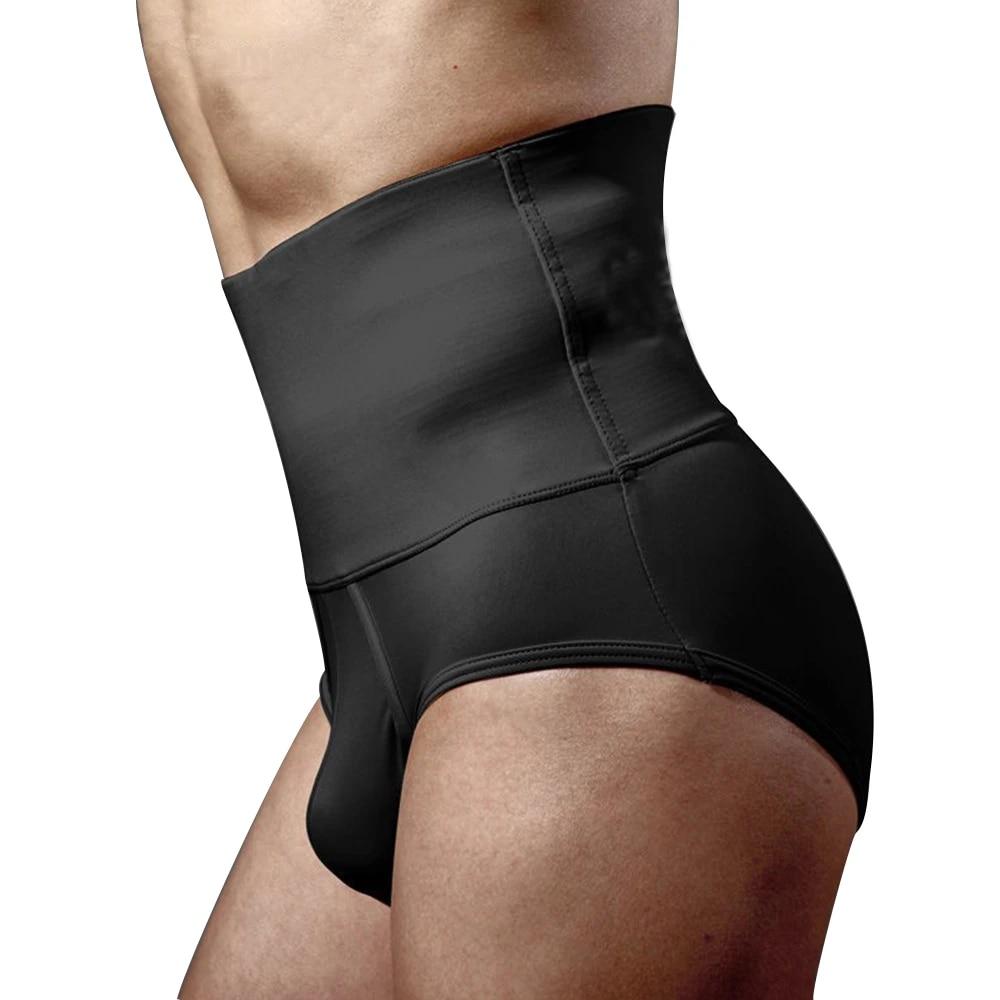 Plus Size Men Tummy Tucker Control Underwear for Men Shapewear Waist  Abdomen Shaping Panty Men Modeling Strap Brief Body Shaper