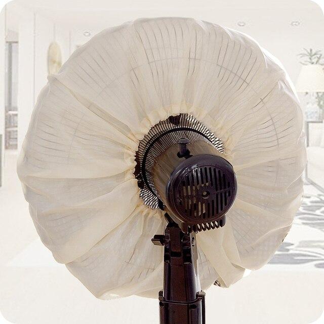 Panno Generale Coperchio Della Ventola All-inclusive Cerchio di Protezione Ventilatore Elettrico Ventilatore Da Tavolo Piano Set Parapolvere Fan 2 Pezzi/lottp