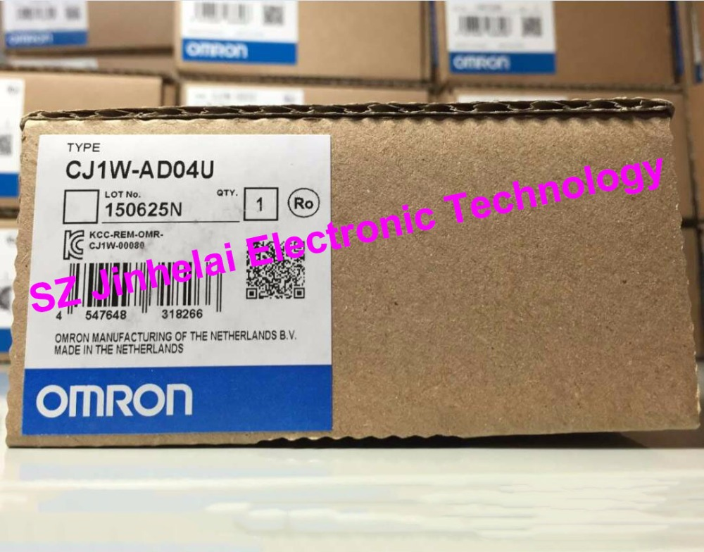 100% New and original CJ1W-AD04U OMRON Analog input unit cj1w mad42 omron analog input output unit