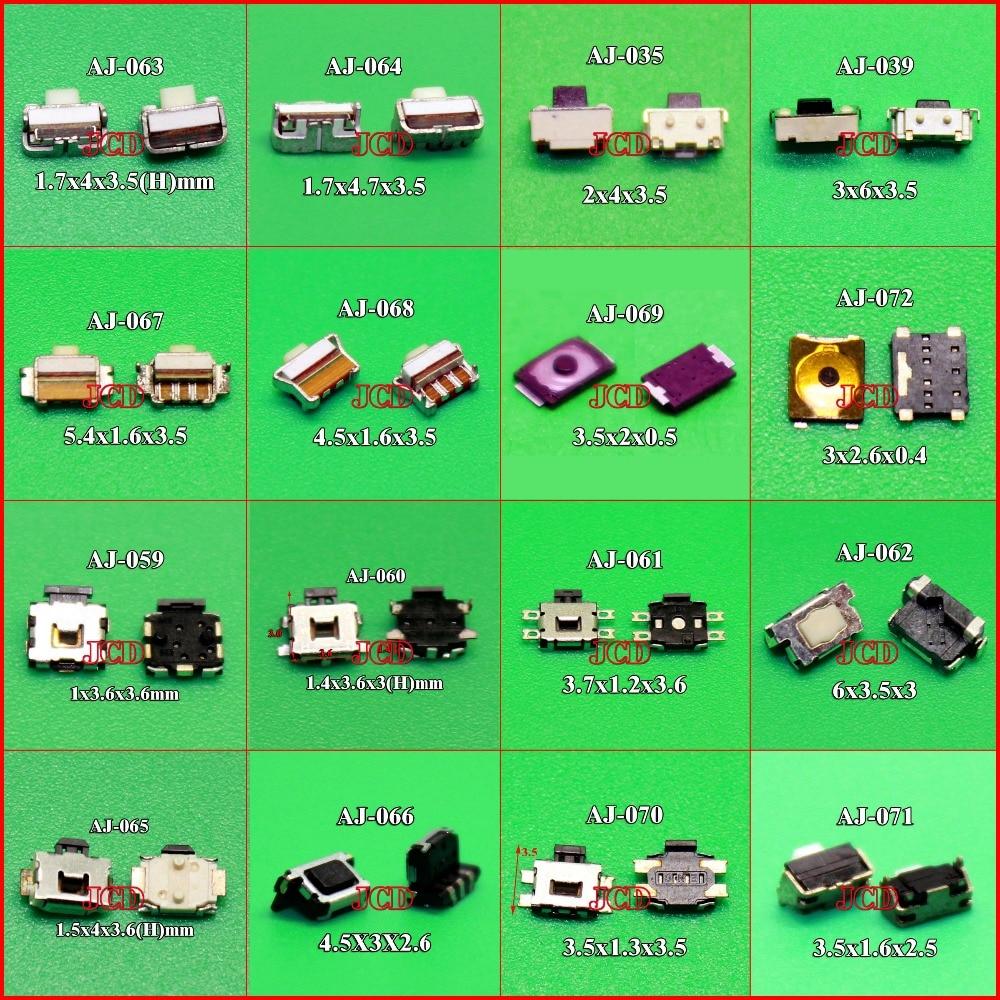 imágenes para Botón Micro Interruptor de Botón táctil para Samsung S2 S3 S4 nota $ number I8190 I8160 Nokia Lenovo HTC Blackberry iPhone 4G XiaoMi Moto