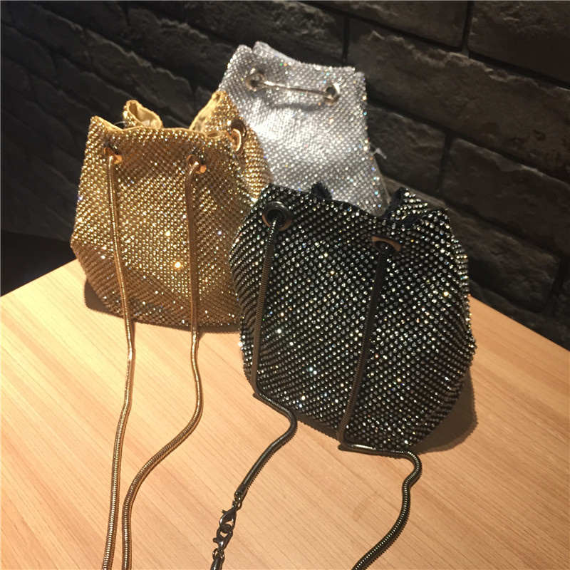 Female Diamond Handbag Vintage Crystal Design Evening Bag Wedding Party Bride Clutch Velour Bag Purse rhinestone shoulder bags flower evening crystal bag golden stones rhinestone clutch evening bag female party purse wedding clutch bag shoulder bags