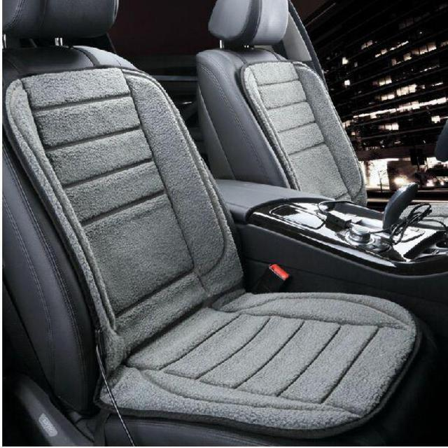 Car Seat Heating High Quality Stuffed Car Seat Cushion Cover Electric Warm For Winter Interior Accessories