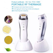 Free Shipping Mini Bipolar RF Radio Frequency Vibration Skin Beauty Instruments For Rejuvenation