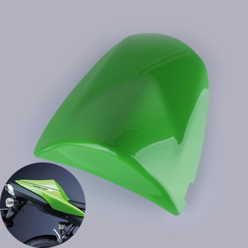 New Motorcycle Seat Cowl Rear Passenger Protection Cover For Kawasaki Z750 Z1000 2003 2004 2005 2006 ZX6R ZX 6R ZX-6R 2003-2004 motoo free shipping for kawasaki zx6r 2005 2006 zx 6r motorcycle aluminium steering stabilizer damper mounting bracket kit