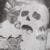 PUNK DELIRIO punky del estilo blanco de punto sin mangas con diseño del cráneo T-349