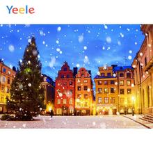 Yeele Winter Castle Fallen Snow Beautiful Room Decor Photography Backdrop Personalized Photographic Backgrounds For Photo Studio