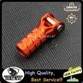 Um set frete grátis billet serve para ktm engrenagem shifter lever dicas com parafuso orange azul cor preta