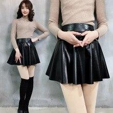 2019 New Fashion Genuine Sheep Leather Skirt Y27